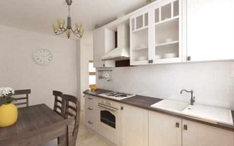 3d navrh kuchyne