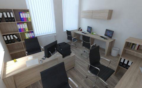 Kancelária pre viacerých ľudí
