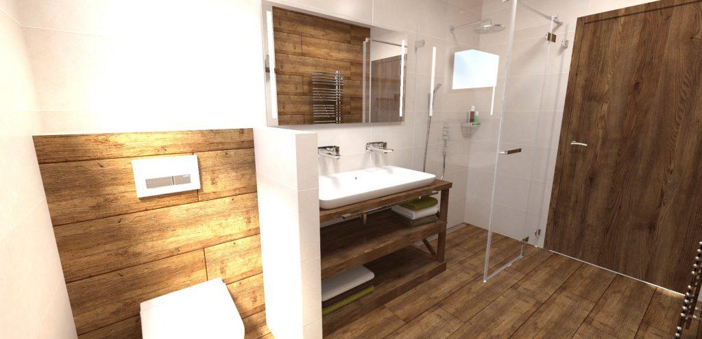 kúpeľňa imitácia dreva