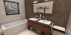 Vizualizácia kúpeľne podľa predstavy zákazníka