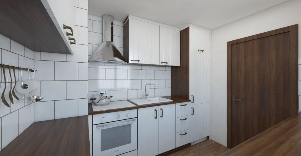 rustikálna kuchyňa
