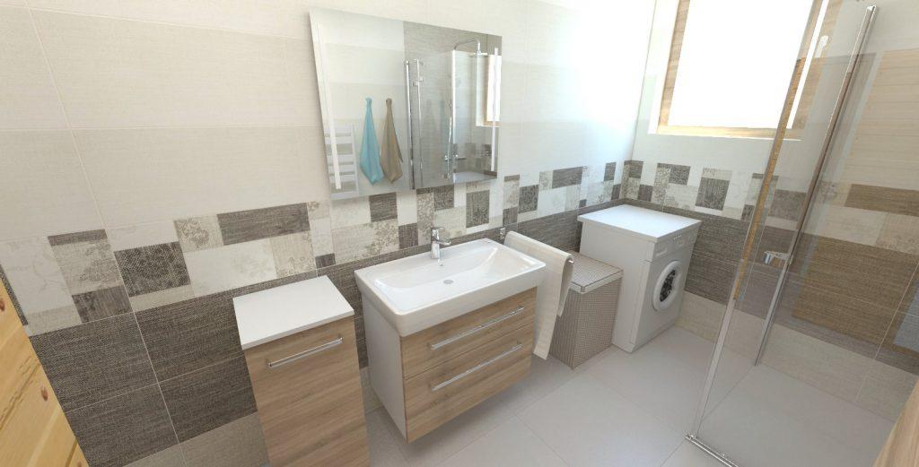 návrh kúpeľne Rako Next 30x60