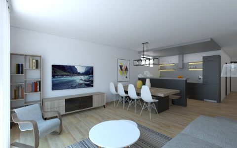 Návrh a 3d vizualizácia interiéru