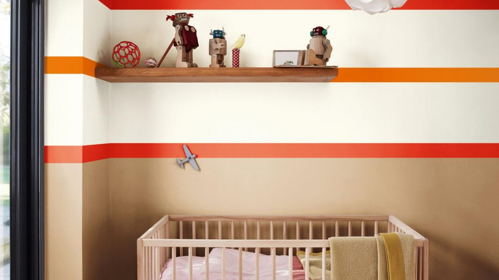 detska izba 2019, spiced honey mix, postieľka, farebné pásy