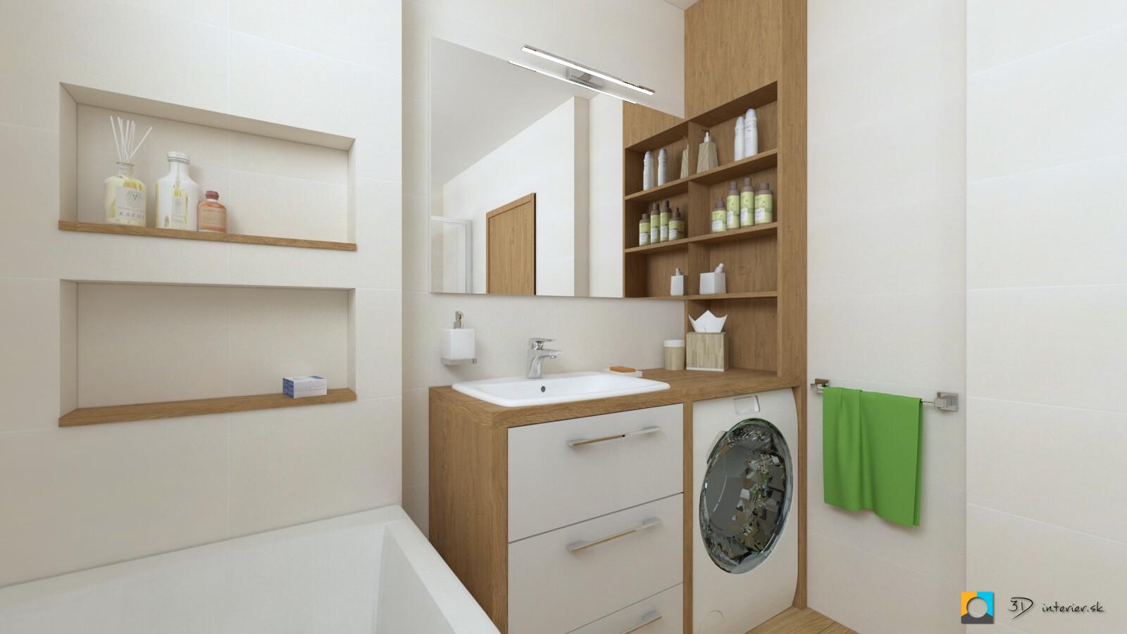 aký obklad do kúpeľne, borneo, skrinka na mieru