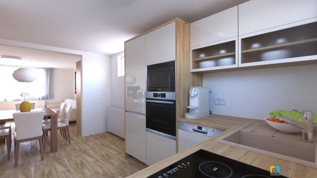 dizajnovy navrh interieru kuchyňa