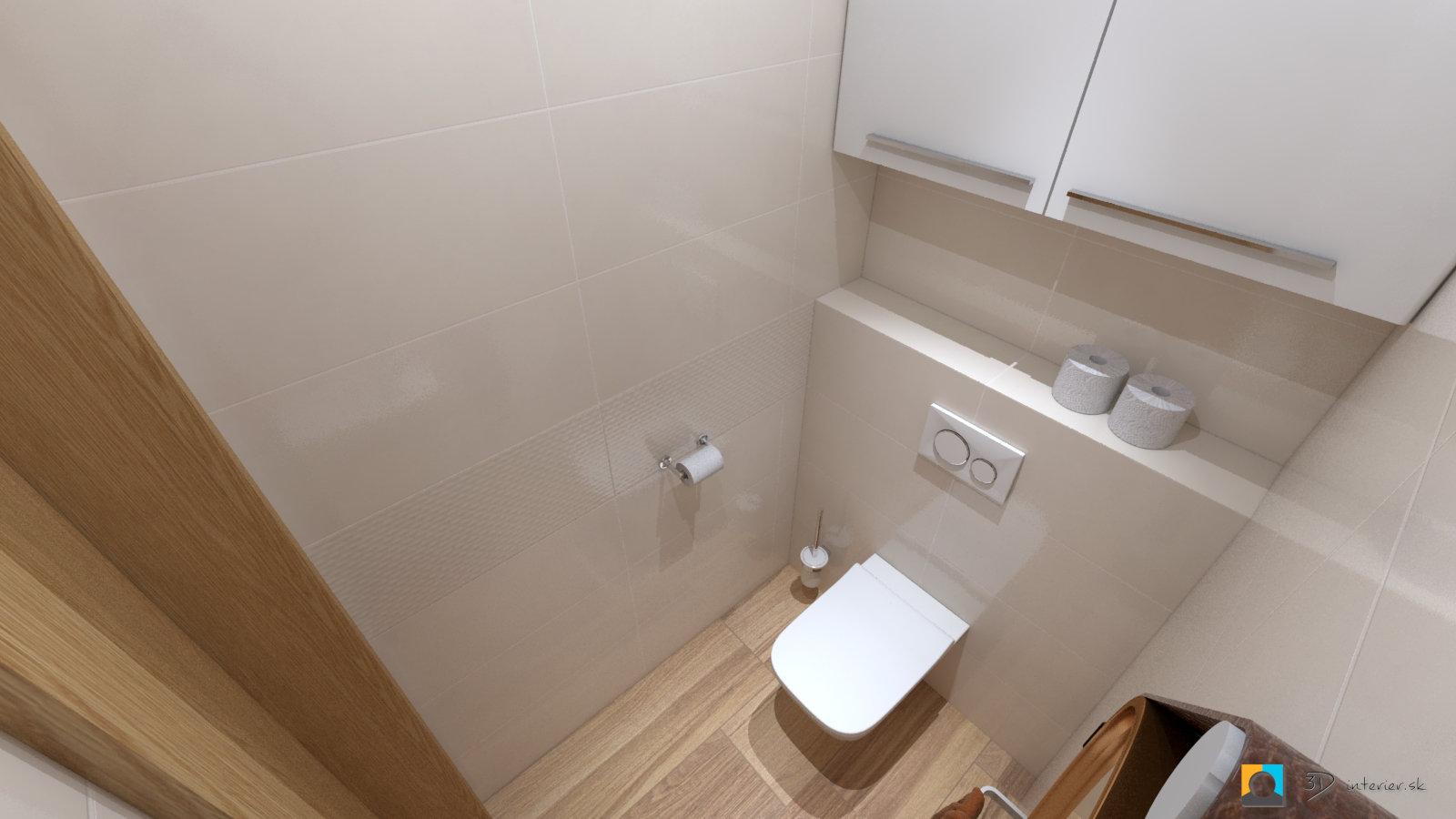 vizualizacia toalety zavesne wc