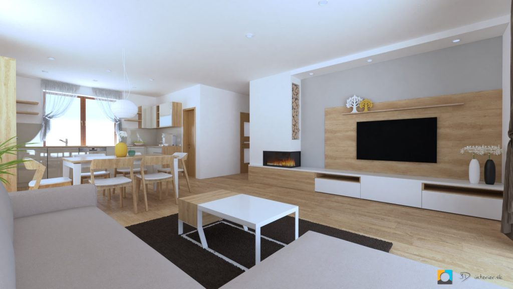 interierovy dizjan rodinneho domu