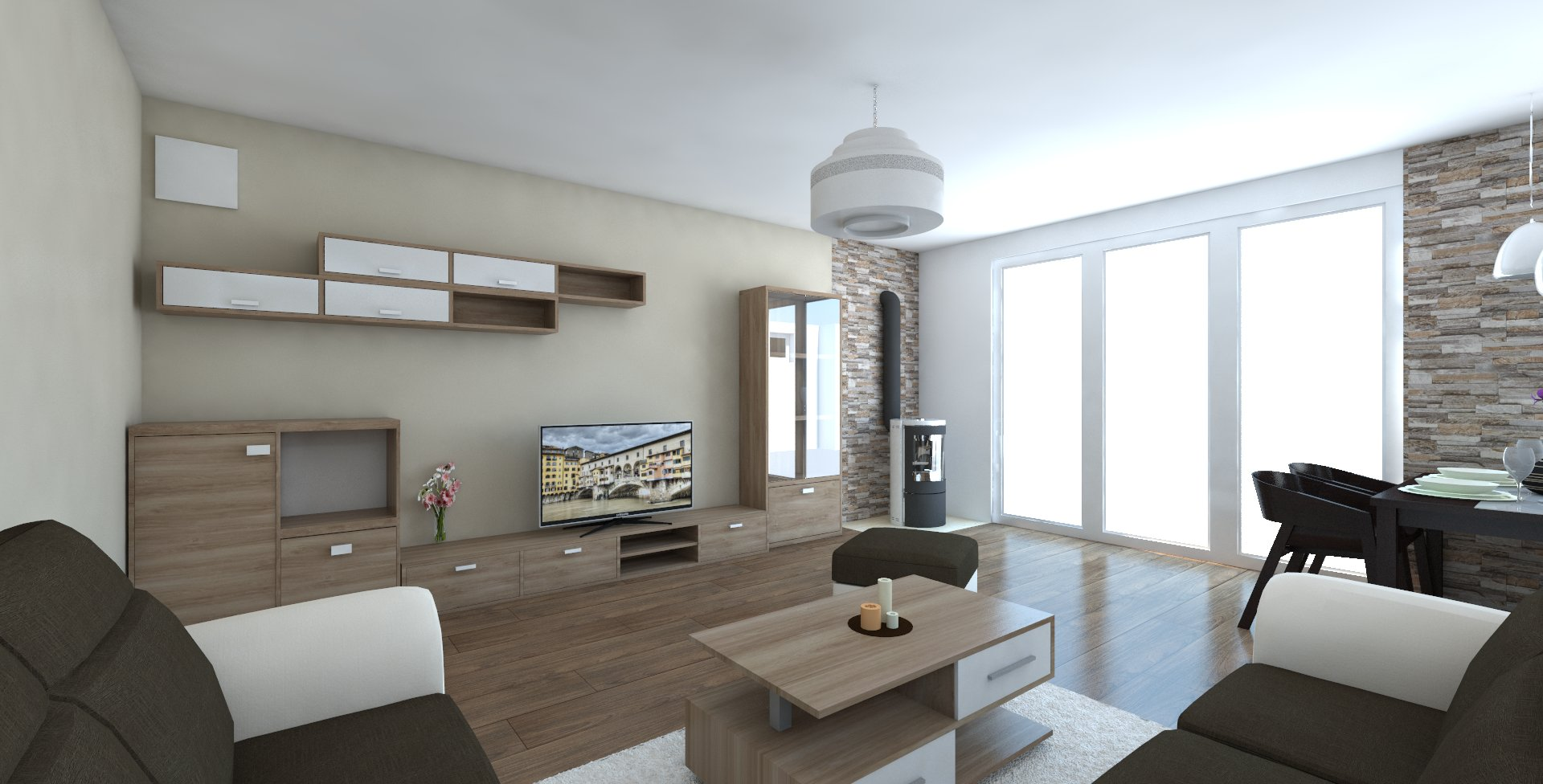 Návrh interiéru domu – Horné Vestenice