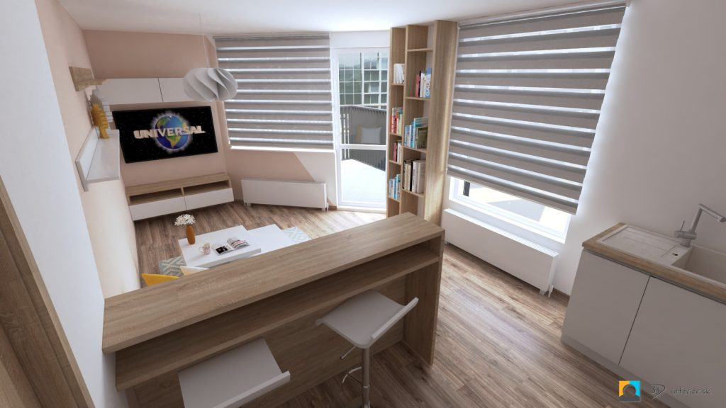 púdrová farba, dizajn a návrh interiéru