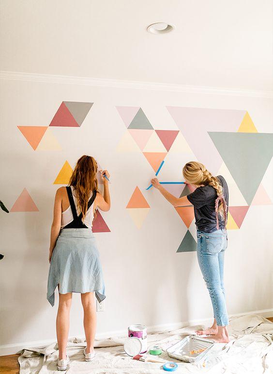ako na farby na stenu