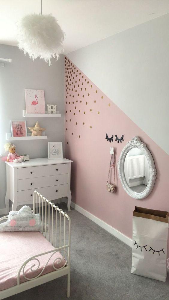 farby na stenu detská izba návrh