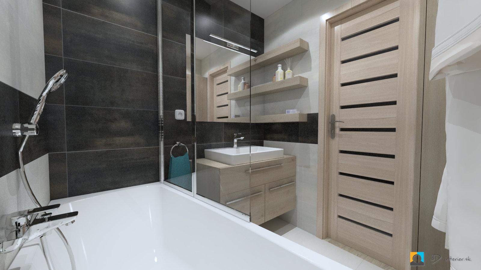malá kúpeľňa dizajn na mieru