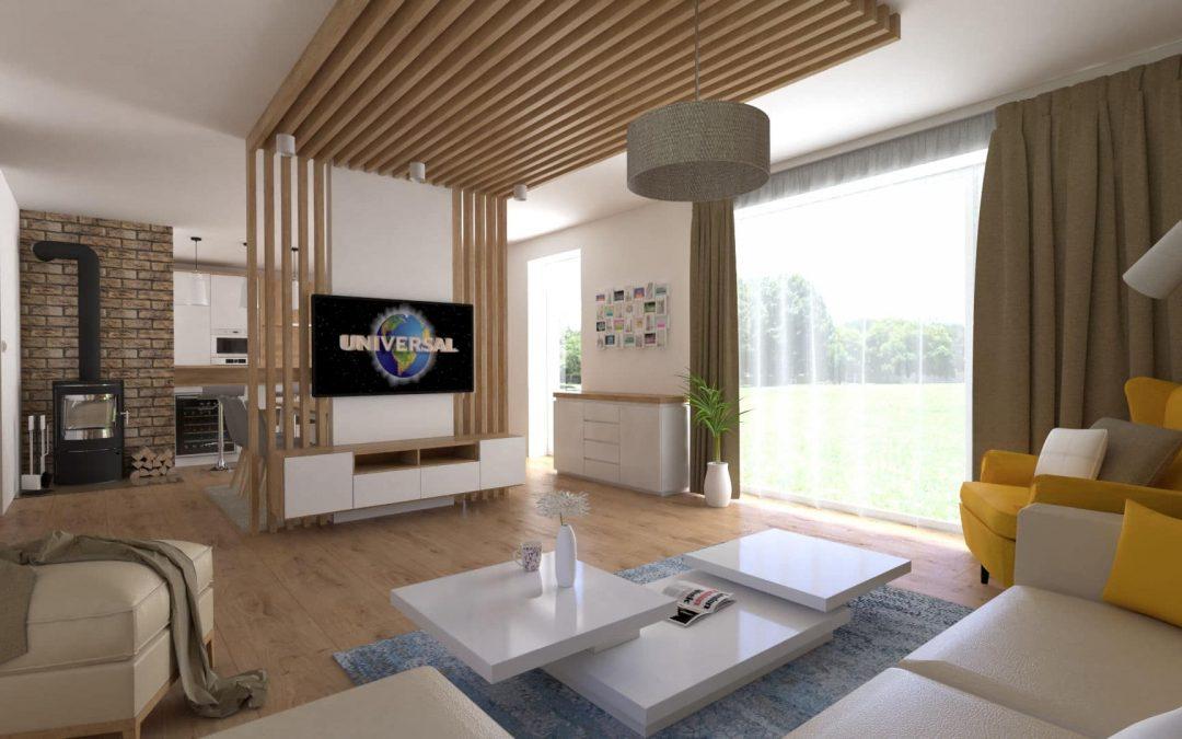 Návrh interiéru rodinného domu Janovce