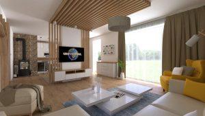 návrh interiéru rodinného domu bardejov