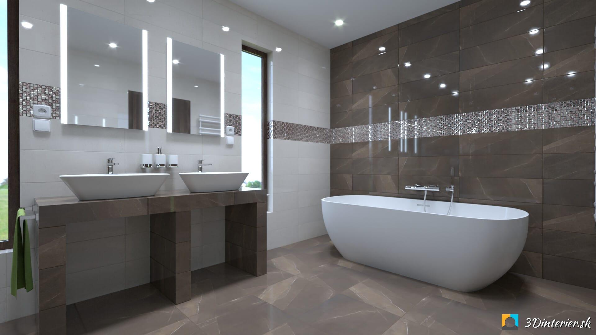 Kúpeľňa imitácia mramoru