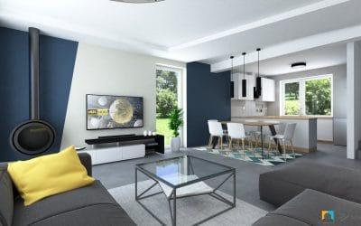 návrh obývacej izby roman trenčín