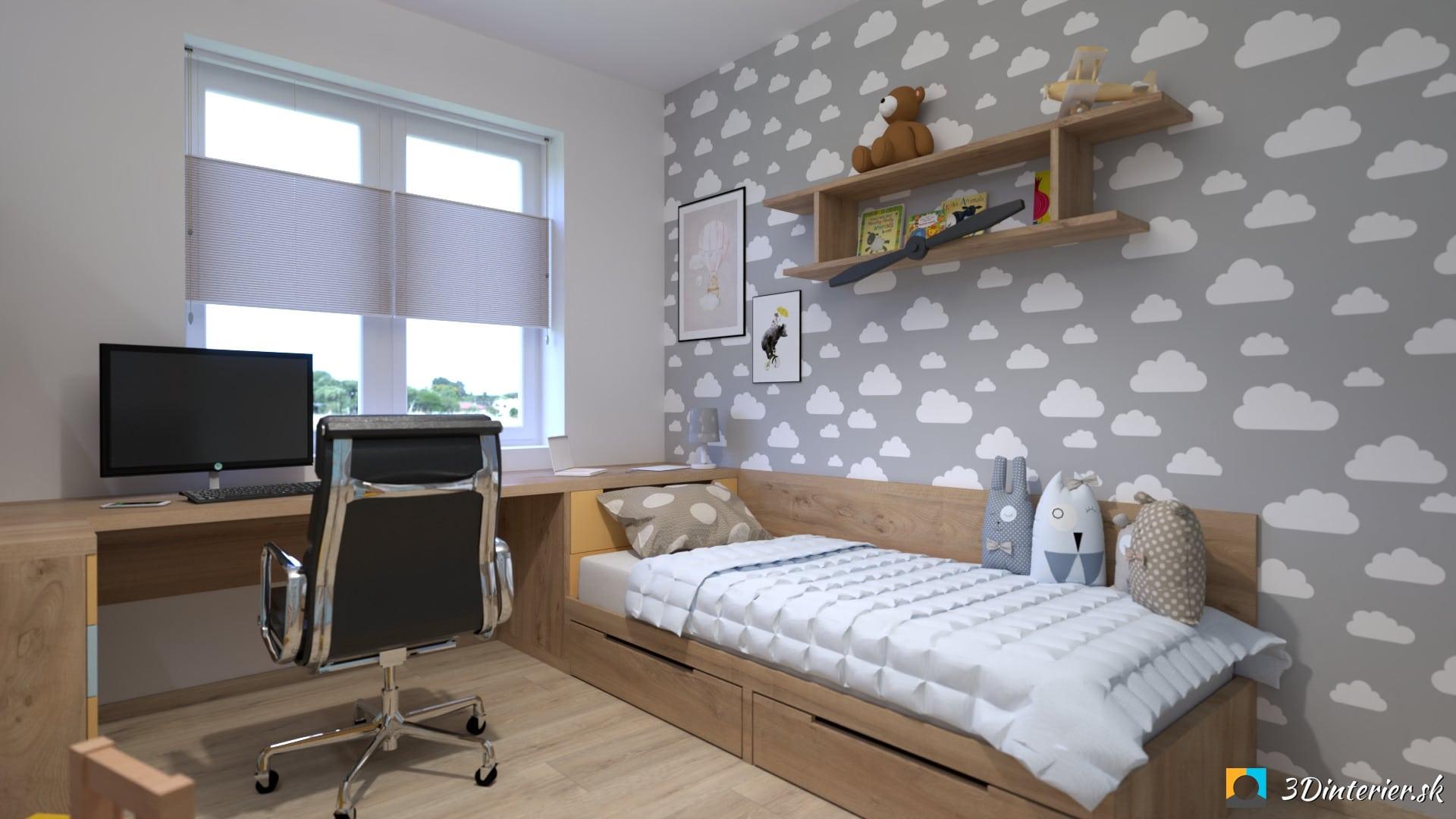 Chlapčenská detská izba