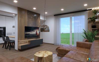 rekonštrukcia rodinného domu obývačka