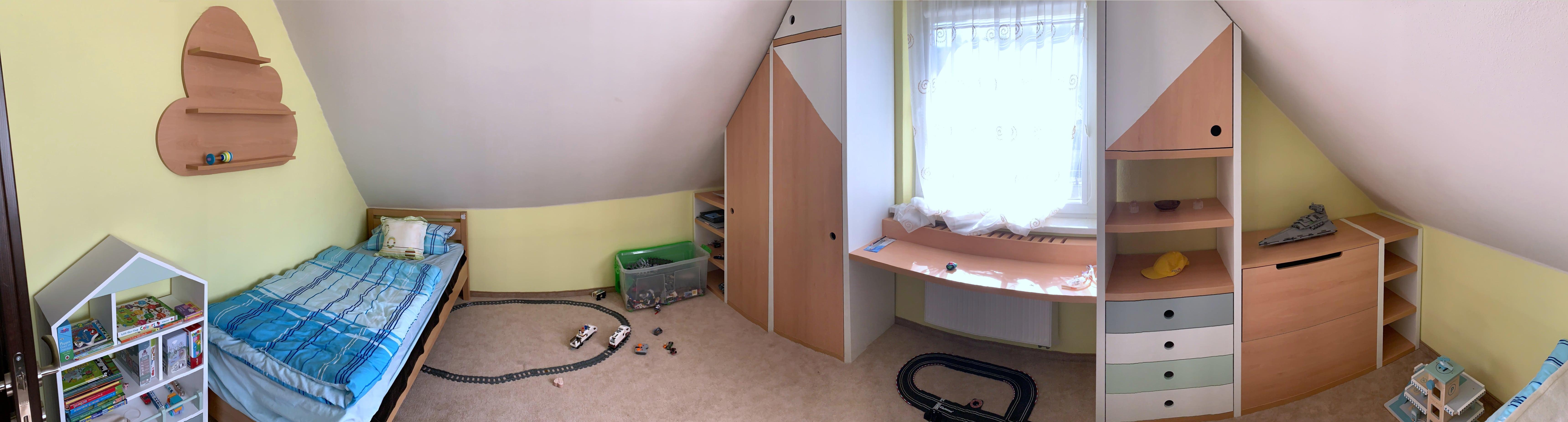 podkrovna detska izba panorama
