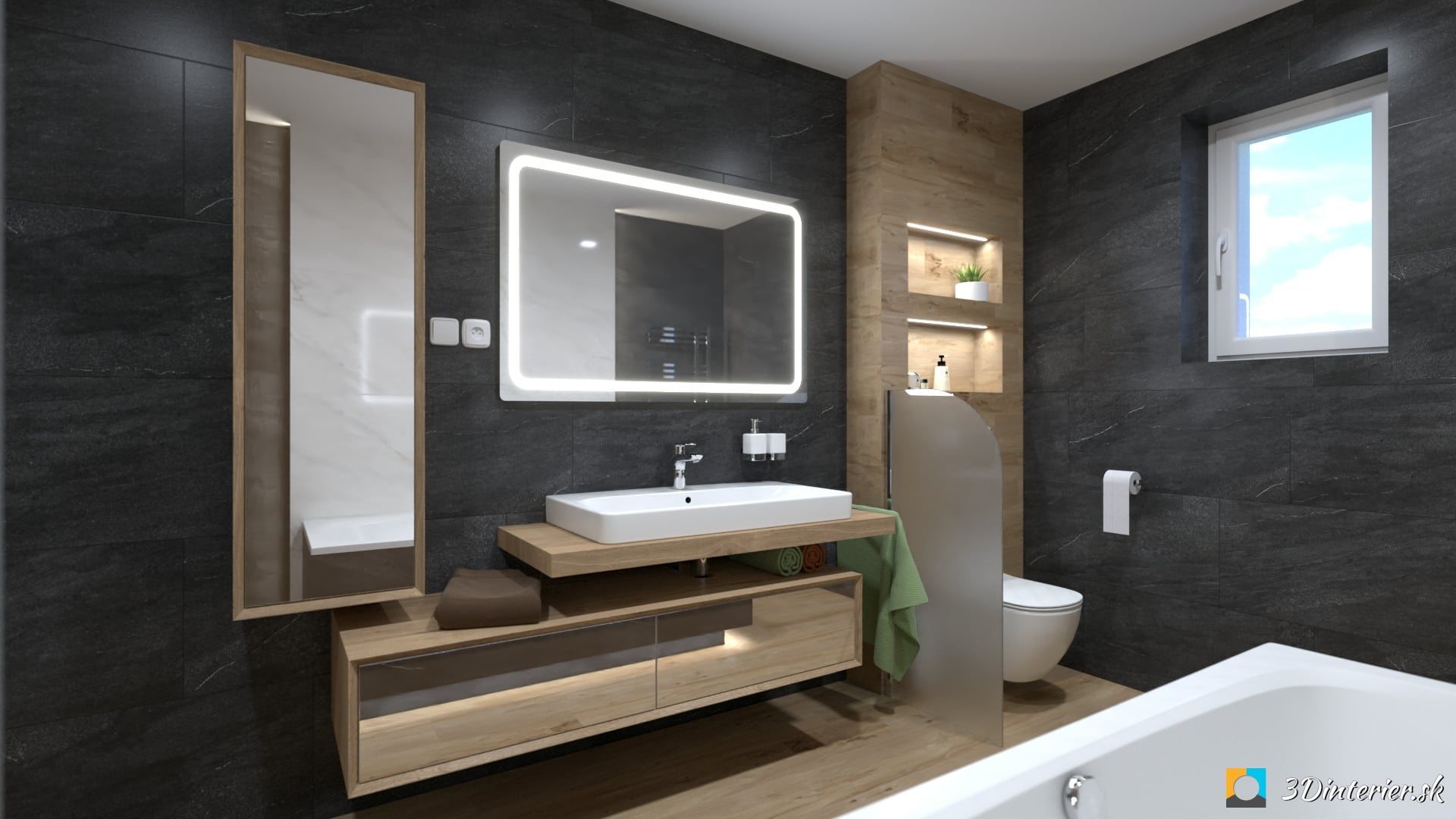 rekonštrukcia kúpeľne rodinný dom