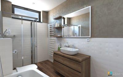Malá kúpeľňa – omietka v kúpeľni