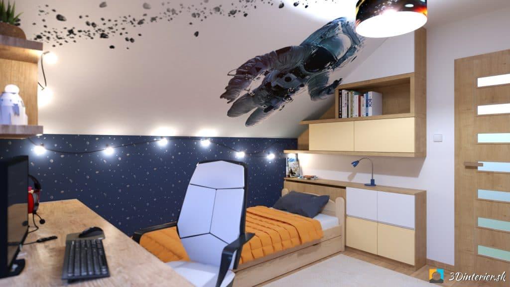 vesmirna detska izba