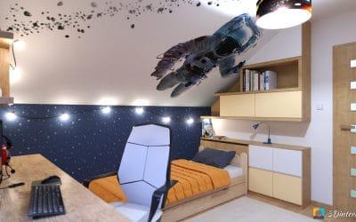 Vesmírna detská izba