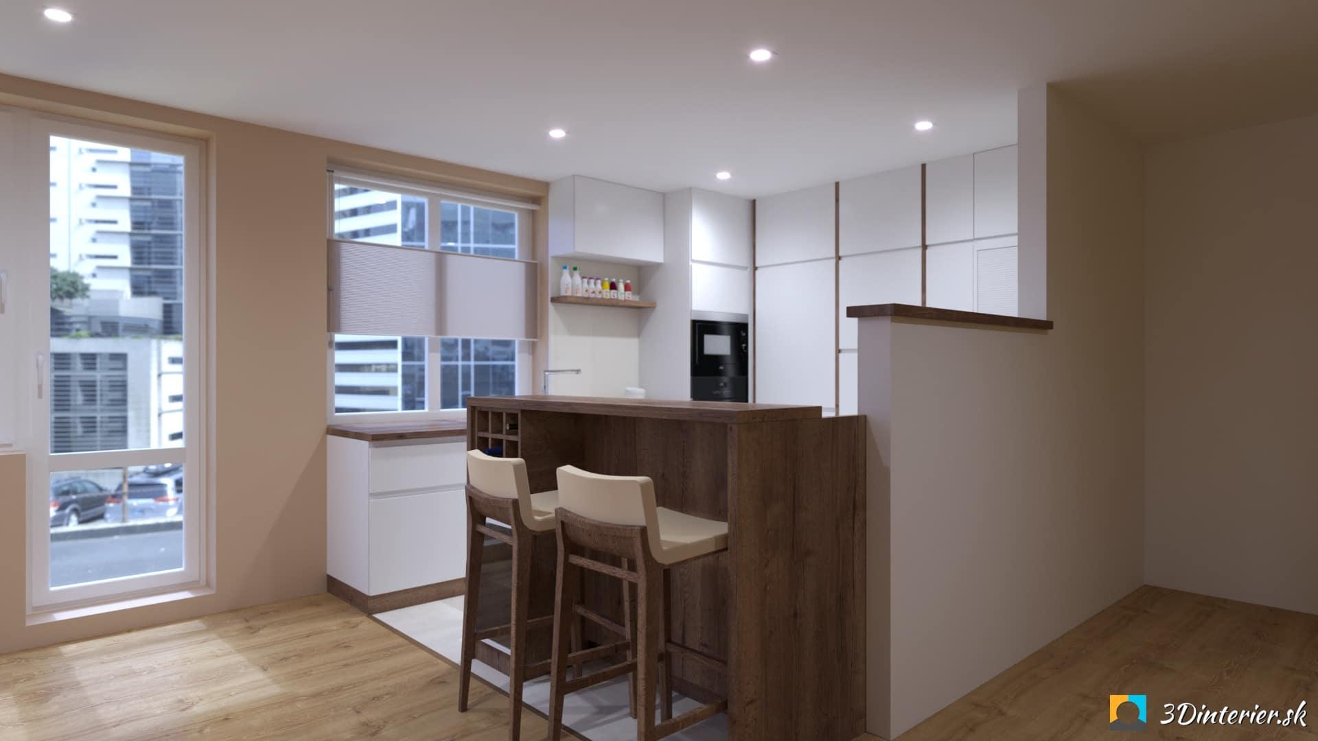 rekonstrukcia dizajn kuchynskej linky