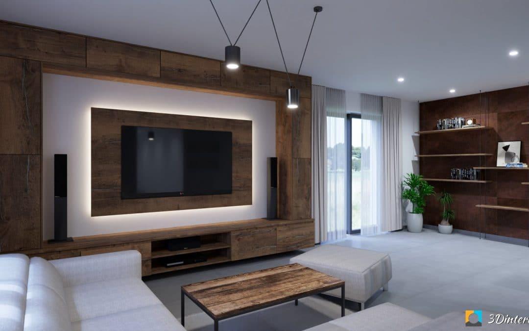Moderný industriálny štýl interiéru pre mladý pár HAJ