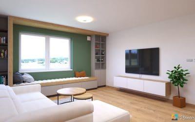 Nadčasový interiér s prírodnými farbami MAR